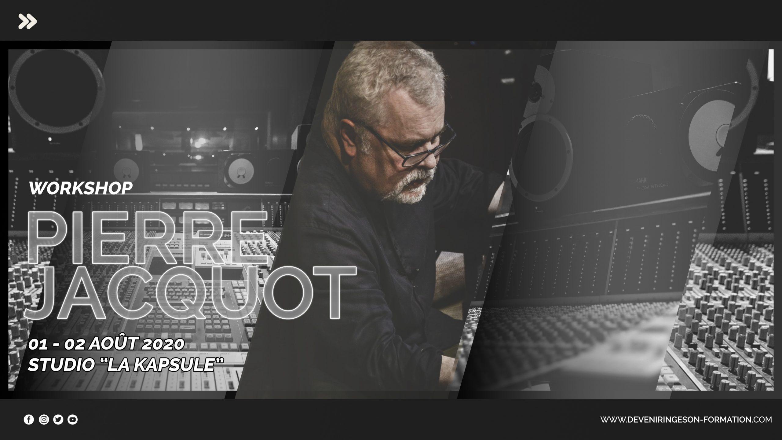 Masterclass avec Pierre Jacquot