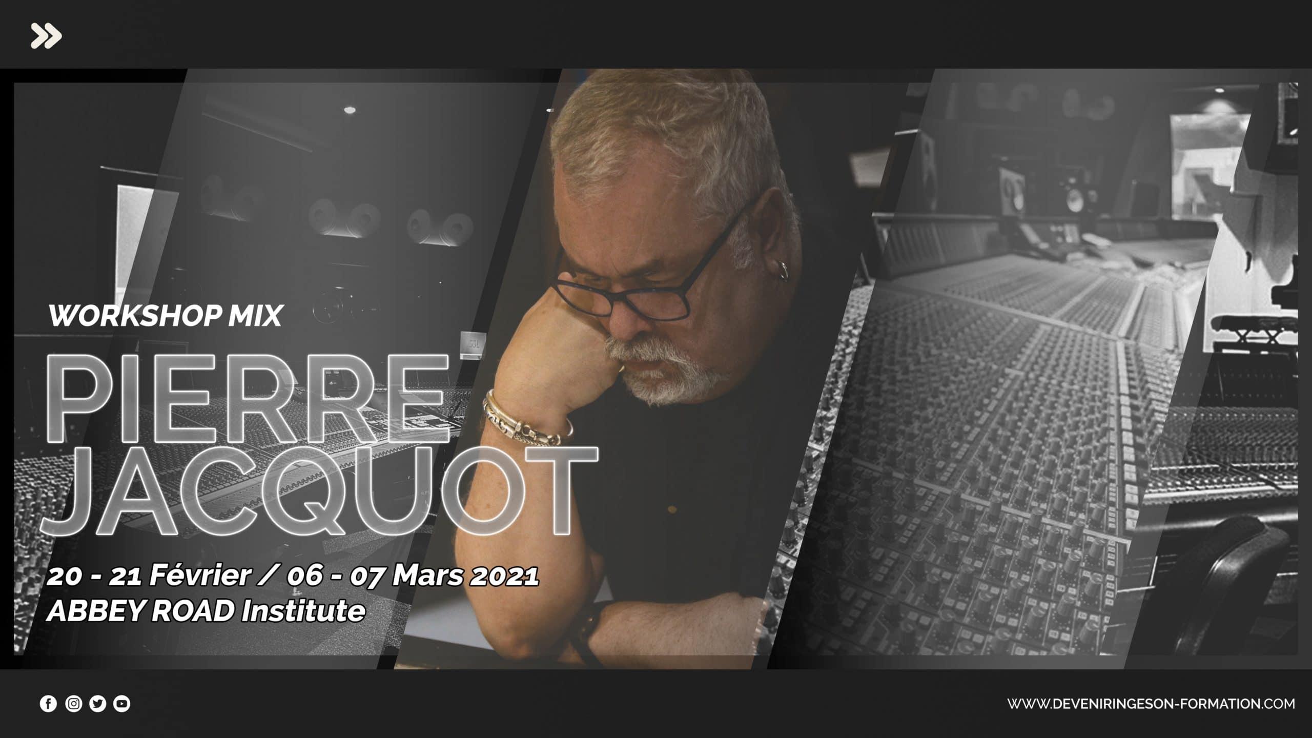 Mixage Pierre Jacquot